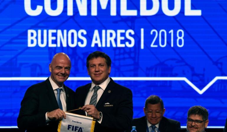 Conmebol pide a la FIFA que en el Mundial 2022 participen 48 equipos