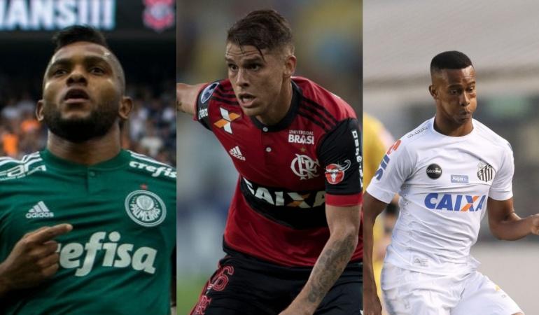 Colombianos en Brasil: Con la presencia de nueve colombianos, el Brasileirão iniciará este sábado