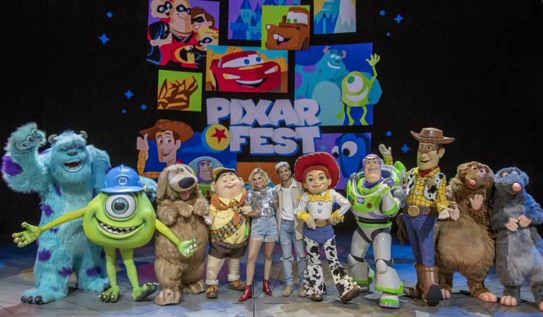 """Disney Disneyland: Descubra como los personajes de Pixar cobran vida en el """"Pixar Fest"""""""