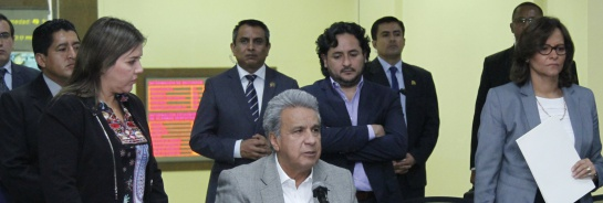Periodistas Ecuador: Presidente de Ecuador confirma el asesinato de periodistas