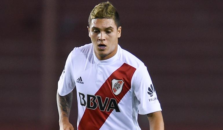 Juan Fernando Quintero River Plate: Así entrena goles olímpicos Juan Fernando Quintero