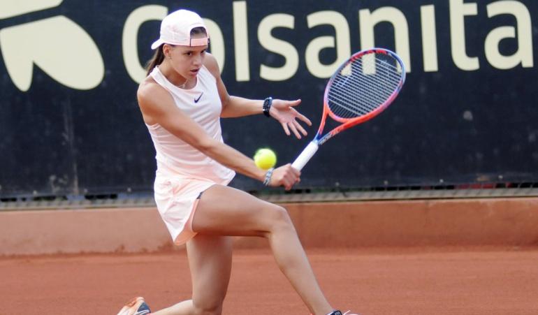 Emiliana Arango se retiró del Claro Colsanitas en cuartos de final