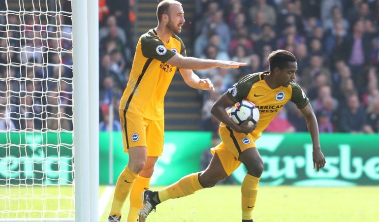 Gol Izquierdo Crystal Palace 3-2 Brighton: Izquierdo vuelve a marcar con el Brighton, pero no pudo evitar su derrota