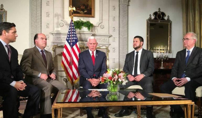 """Crisis de Venezuela: EEUU impulsará """"sanciones adicionales y aislar más"""" al gobierno de Maduro"""