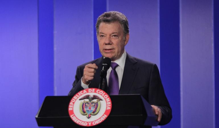 Santos Colombia: Santos pide a EEUU que exima a Colombia de aranceles al acero y aluminio