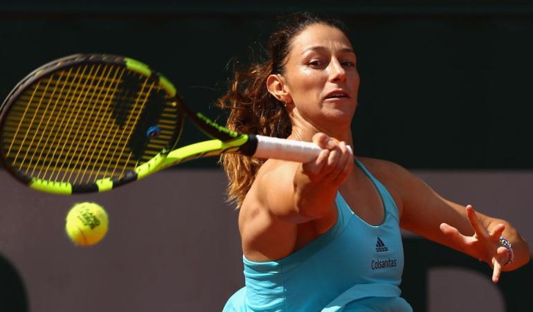 Mariana Duque Claro Open Colsanitas: Mariana Duque jugará la final de dobles en el Claro Open Colsanitas