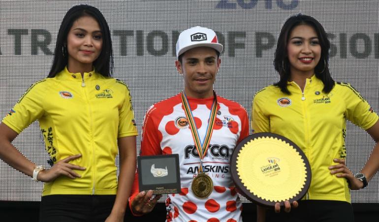 Álvaro Duarte Tour Lombok Mandalika: Ciclista colombiano Álvaro Duarte gana el Tour De Lombok Mandalika
