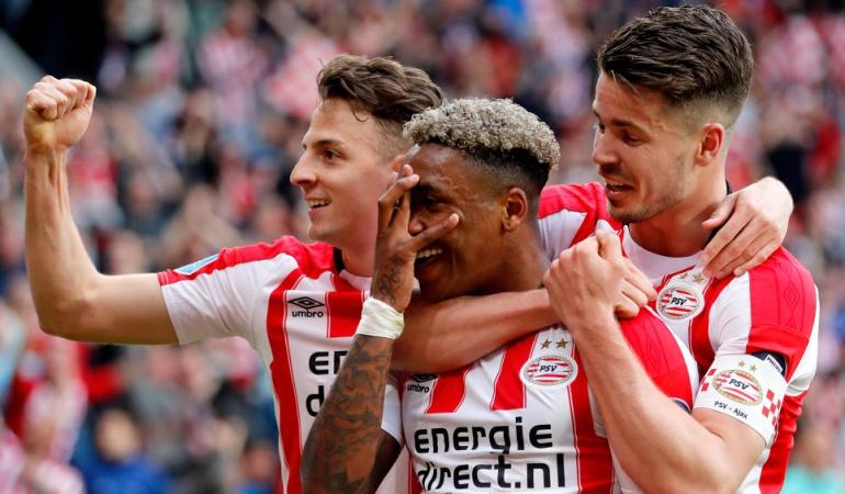 Santiago Arias PSV Eindhoven: ¡Santiago Arias se consagra campeón de Holanda con el PSV Eindhoven!