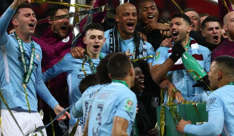 Manchester City campeón: Manchester City se corona campeón de Inglaterra tras la derrota del United