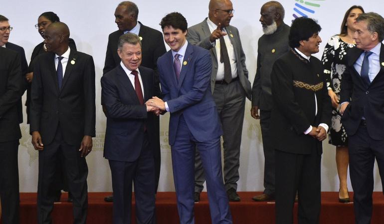 Cumbre de las América Venezuela Presidentes: Países abogan por restablecimiento de democracia en Venezuela