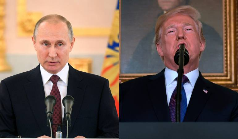 Valdimir Putin, Donald Trump
