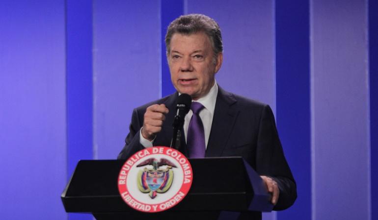 Reanudan investigación contra el presidente Santos por caso Odebrecht