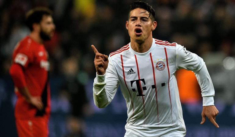 James Rodriguez Bayern Múnich Real Madrid Liga de Campeones: El Real Madrid no es solo Ronaldo, tiene más jugadores fuertes: James