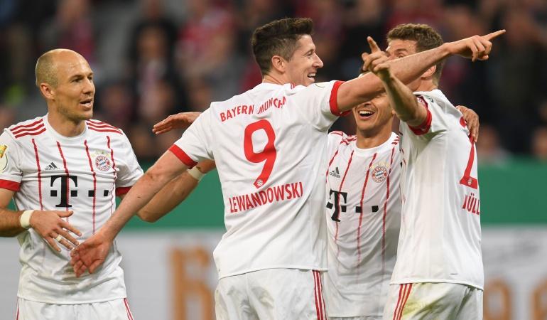 copa alemania Bayern munich: Con James 10 minutos, Bayern avanza a la final de la Copa de Alemania