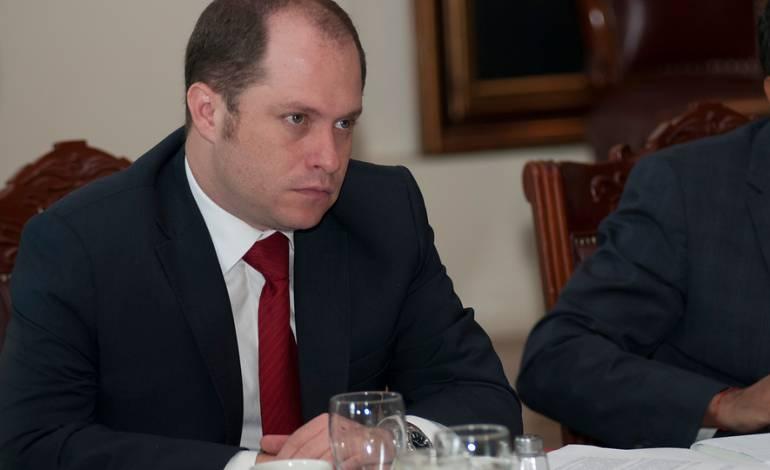 Héctor Olimpo Espinosa -viceministro del Interior.
