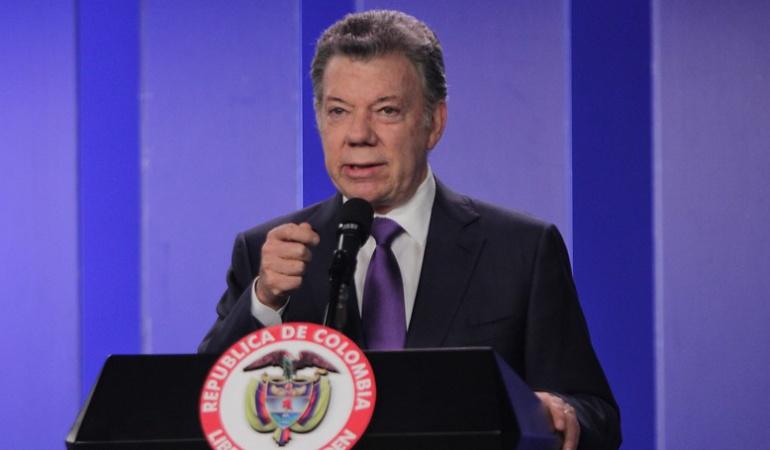 Gobierno de Santos: Los proyectos que impulsará Santos en el Congreso en su recta final