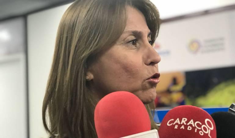 Ministra de Trabajo - Griselda Janeth Restrepo Gallego.