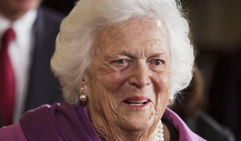 Muerte de Barbara Bush: Falleció Barbara Bush, ex primera dama de EE.UU.