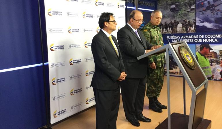 Mindefensa anuncia reestructuración en organigrama de las FF.MM. por corrupción