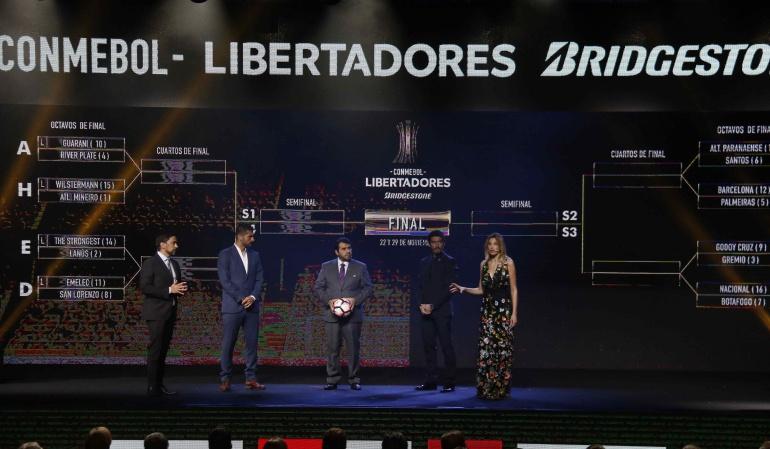 Sorteo de Copa Libertadores Sudamericana: Sorteo de Copa Libertadores y Sudamericana serán el 4 de junio