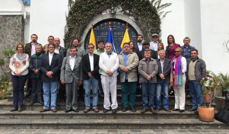 Diálogos de paz con el Eln: Habrá pausa en diálogos de paz con el ELN mientras se consigue nueva sede