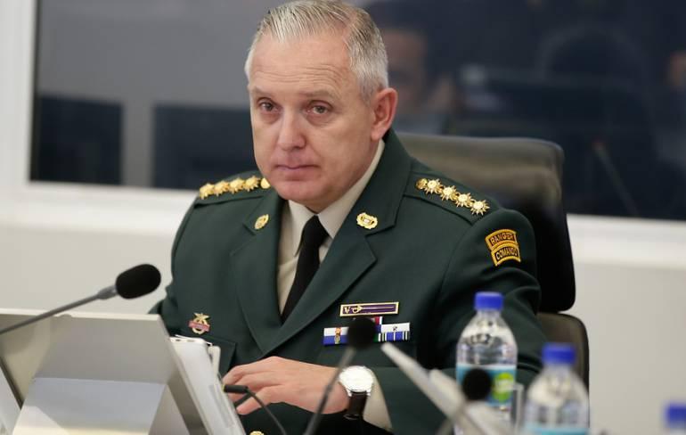 el general ALberto José Mejía