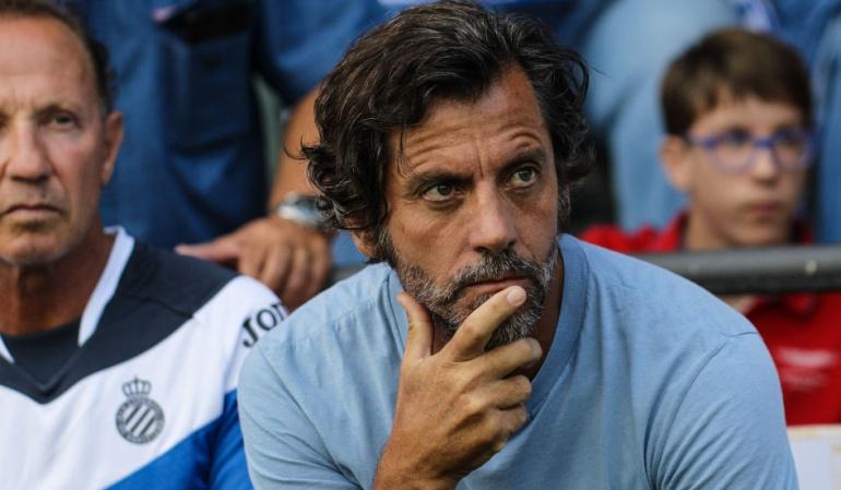 Quique Sánches Flores Espanyol Carlos Sánchez: Quique Sánchez, entrenador del Espanyol, fue despedido del cargo
