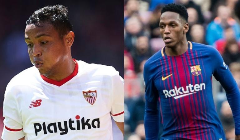 Muriel Mina Final Sevilla Barcelona Copa del Rey: Luis Fernando Muriel y Yerry Mina buscarán su primer título en Europa