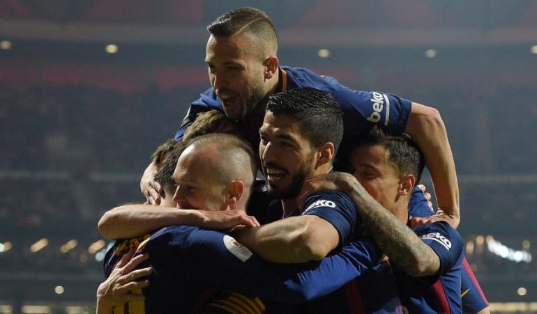 Barcelona Sevilla Copa del Rey: Barcelona golea 5-0 al Sevilla y se corona campeón de la Copa del Rey