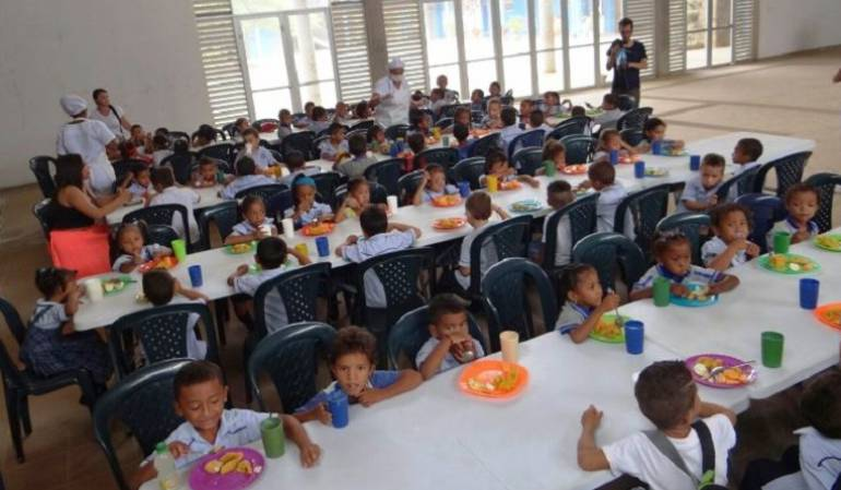 Jalón de orejas por recursos sin ejecutar para alimentación escolar