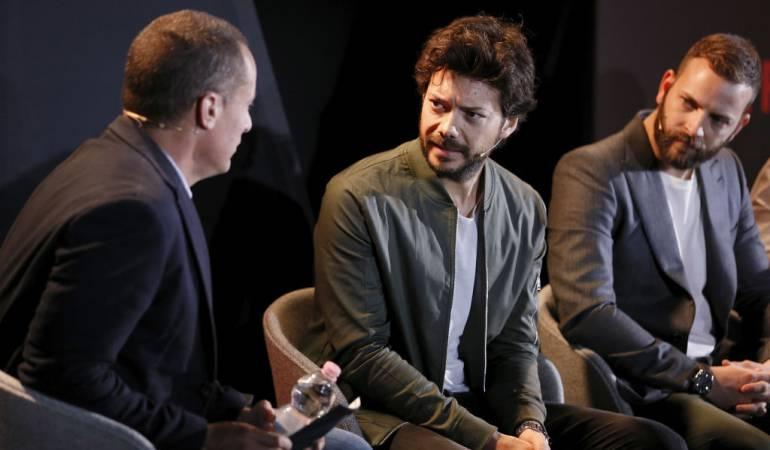 Álvaro Morte es uno de los personajes principales de la serie 'La casa de papel'.