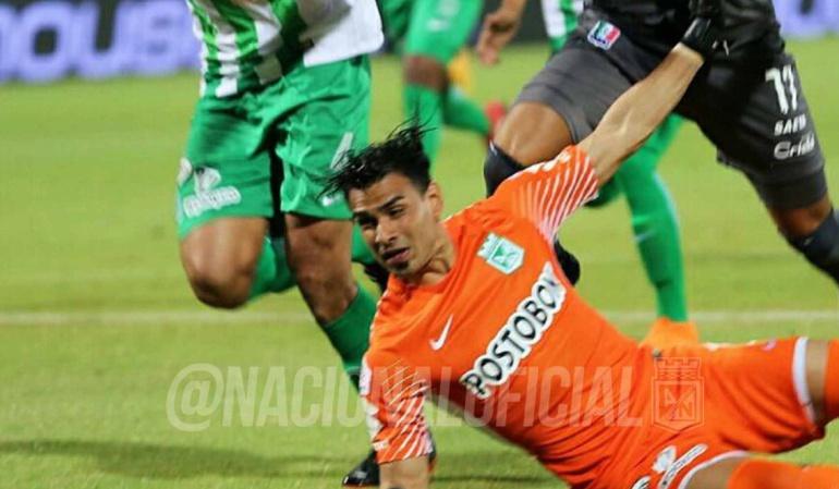 Atlético Nacional Once Caldas Liga Águila: Nacional venció 1-0 a Once Caldas y extendió su invicto a 32 fechas