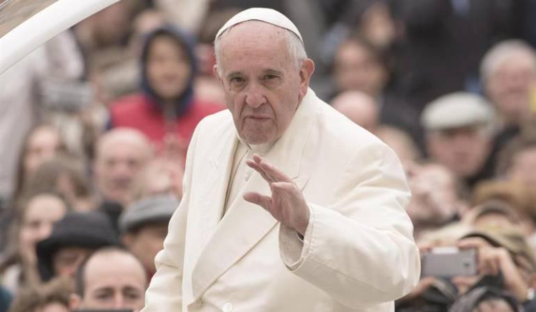 El papa Francisco pide fin de violencia en Nicaragua