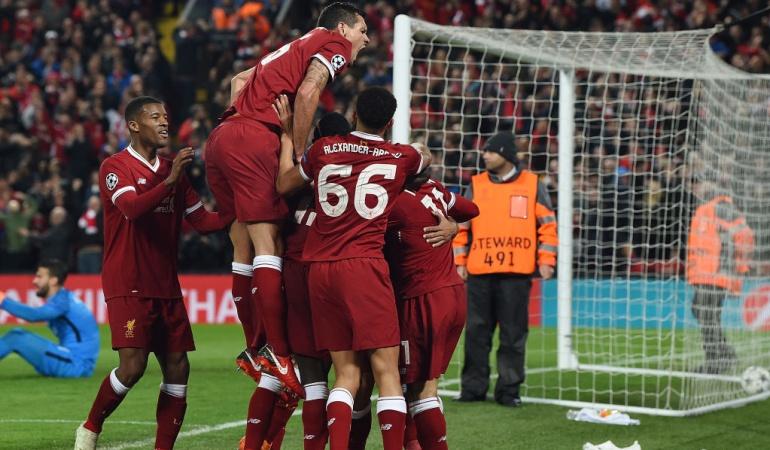 Liverpool Roma semifinal Liga de Campeones: Liverpool golea a la Roma y pone un pie en Kiev