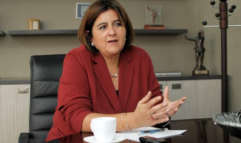 María Lorena Gutiérrez, Ministra de Comercio, Industria y Turismo.
