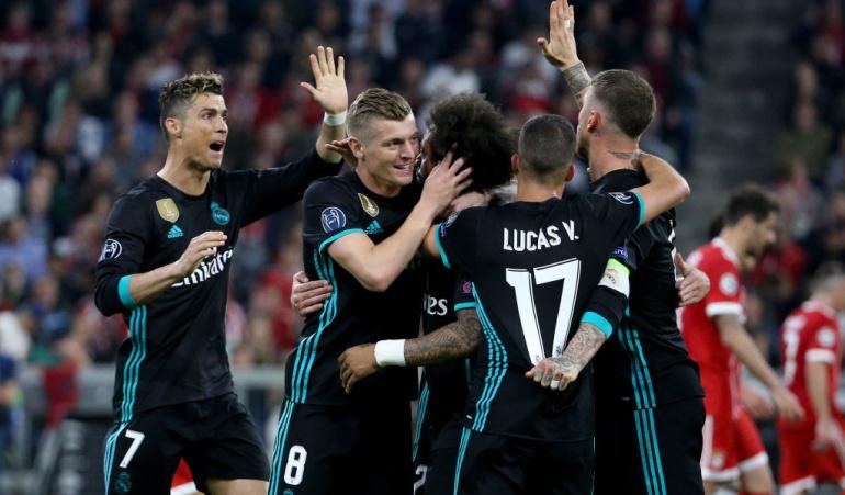 Bayern Múnich Real Madrid: Real Madrid apela a su jerarquía y derrota al Bayern con James Rodríguez