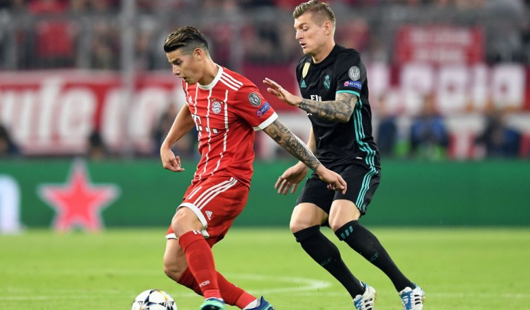 James Real Madrid Bayern Munich: Creo que hice un buen juego, pero quería ganar. Quedé con bronca: James