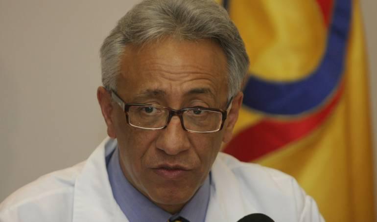 Director de Medicina Legal Carlos Eduardo Valdés