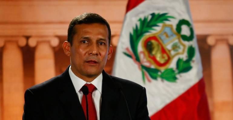 Ex presidente peruano Ollanta Humala.