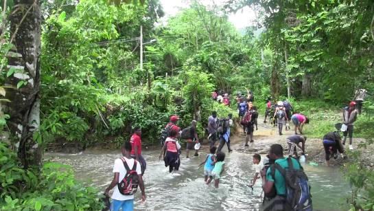 Frontera con Panamá: La 'loma de la muerte' en la frontera con Panamá