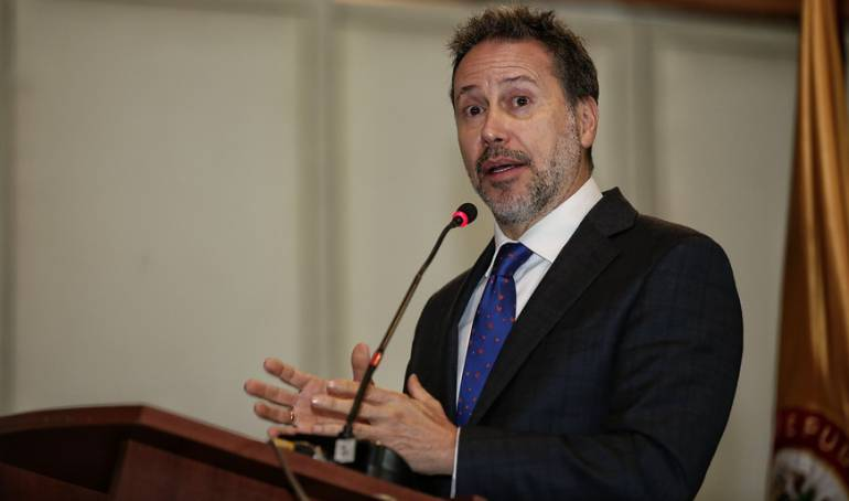 Secretario Ejecutivo de la JEP, Néstor Raúl Correa.