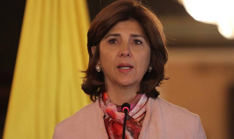 Canciller María Ángela Holguín