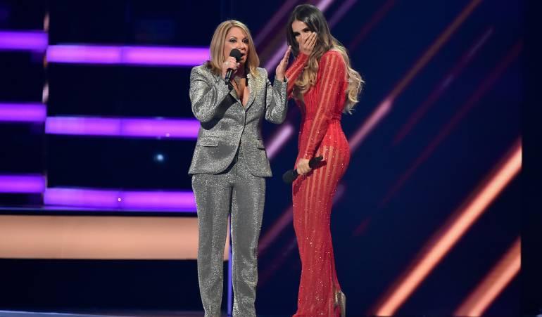 Billboard 2018: Catherine Siachoque y Ana María Polo se besaron en los Billboard