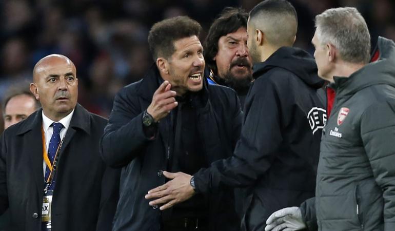UEFA Atlético de Madrid: La UEFA le abre expediente disciplinario al Atlético de Madrid