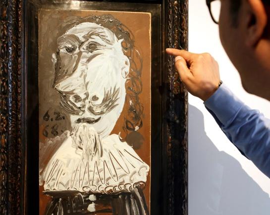 Buste de Mousquetaire: La obra de Picasso que tiene 25.000 propietarios