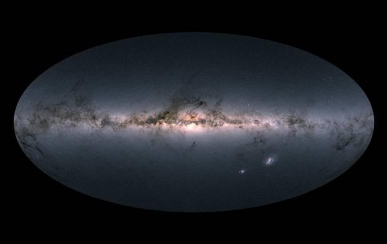 Vía Láctea: Publican el mapa estelar más detallado de la Vía Láctea