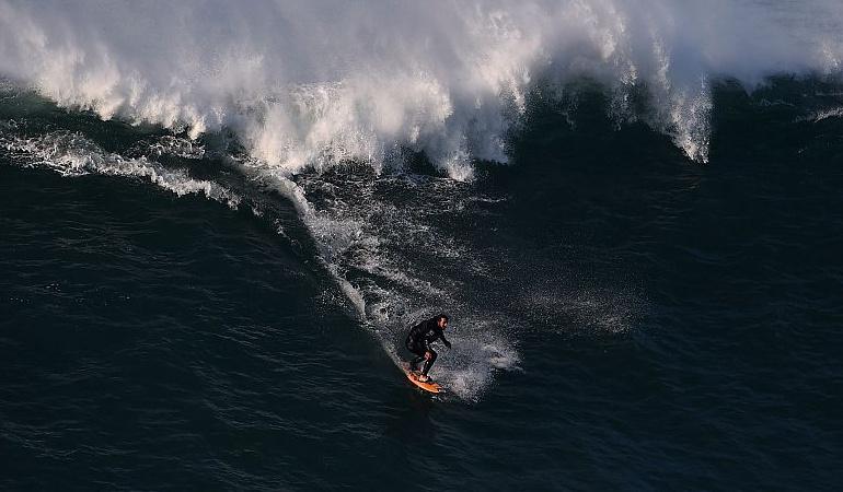Ola surfeada récord mundial: Un brasileño surfea la ola más alta en la historia y bate el récord mundial