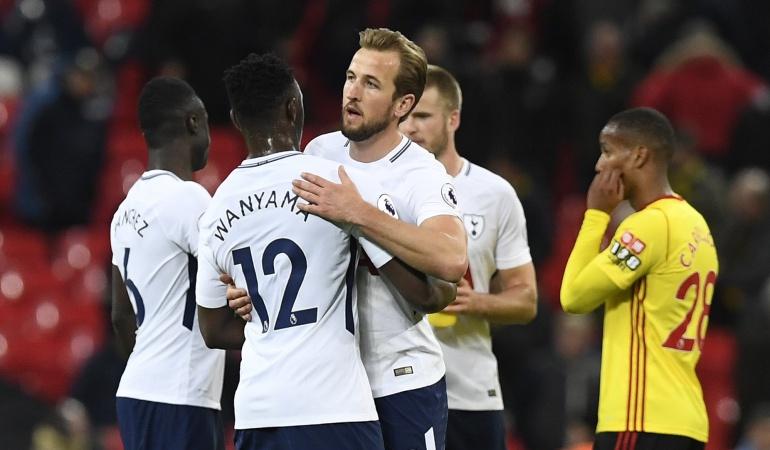Dávinson Tottenham: Tottenham con Dávinson se afianza en los puestos de Champions