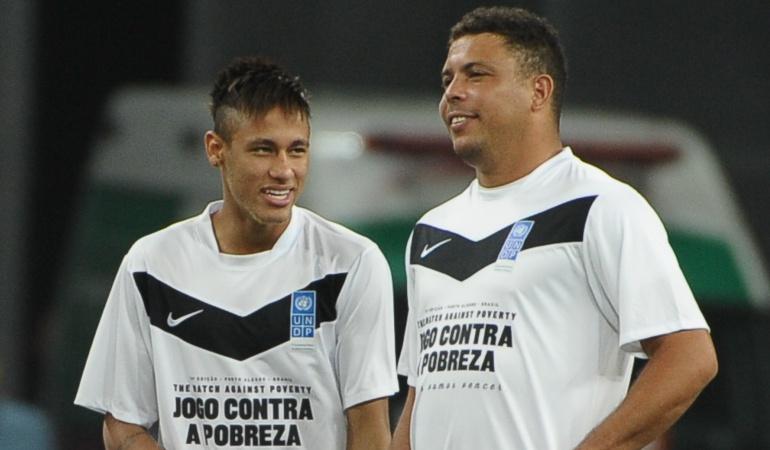Neymar Ronaldo Real Madrid: Ahora mismo creo que es imposible que Neymar juegue en el Madrid: Ronaldo