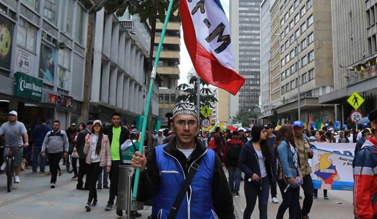 Día del trabajo: Más de 1'000.000 de trabajadores marcharon en el Día del Trabajo: CUT